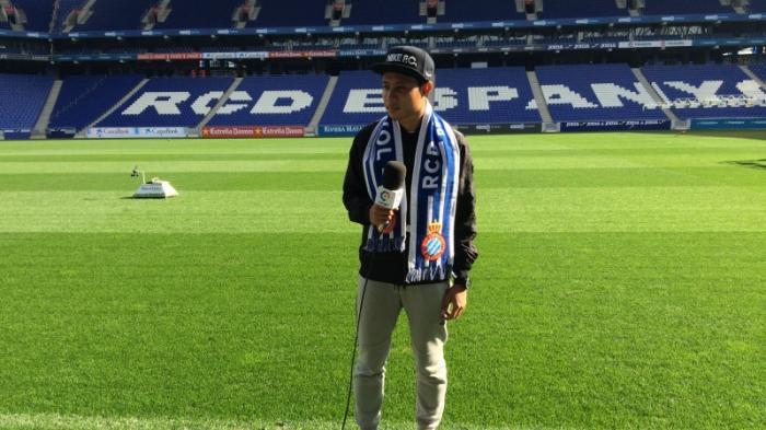 Evan Dimas Dilirik Pelatih Espanyol