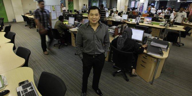 Pemilik MNC Group, Hary Tanoesodibjo. (Reuters/Beawiharta)