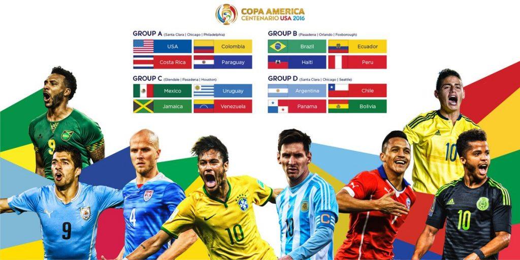 Stasiun TV Pemegang Hak Siar Resmi Copa America 2016