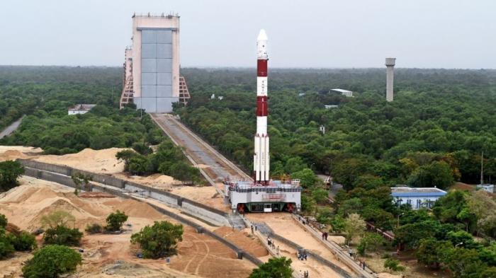 PELUNCURAN satelit LAPAN-A3/IPB dengan roket PSLV-C34 dari Dhawan, Sriharikota, India, Rabu (23/06/2016). (ist)