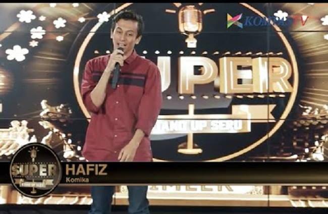 Hafiz, komika asal Aceh.