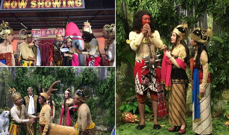 Konten stasiun televisi di Indonesia dikuasai dari Pulau Jwa. (Twitter/OVJ)