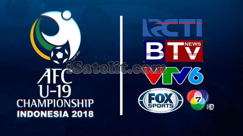 Stasiun TV Pemegang Hak Siar Piala AFC U-19