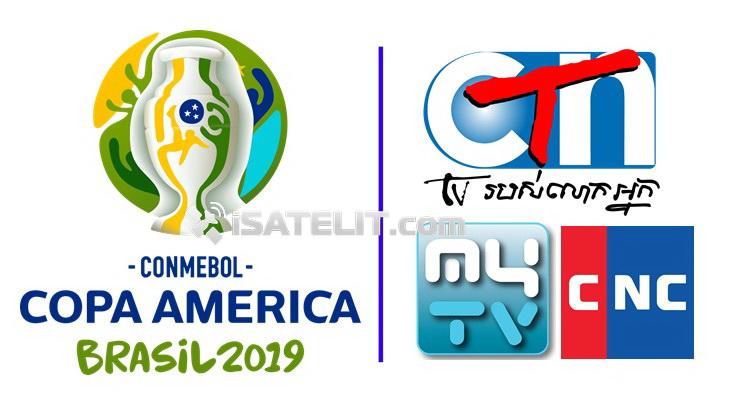 CTN, CNC dan MyTV Resmi Siarkan Copa America 2019