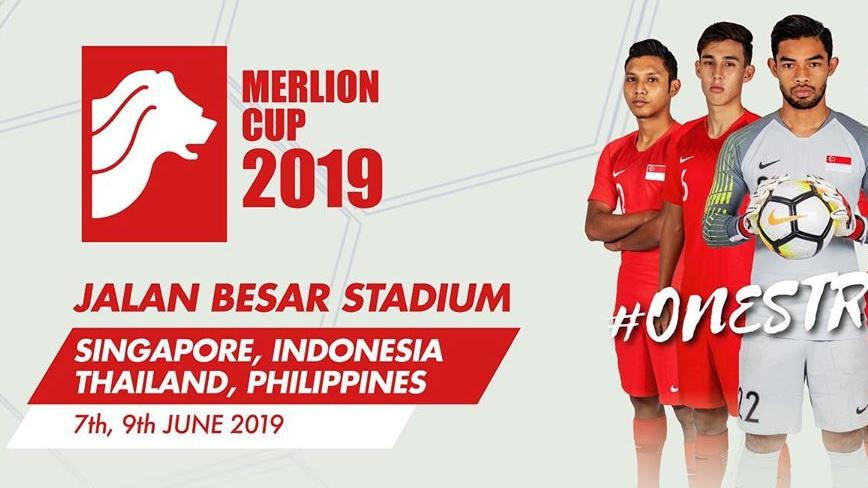 Siaran TV Siarkan Merlion Cup: Thailand U22 vs Indonesia U23