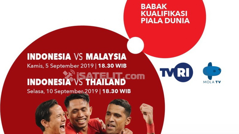 TVRI Siarkan Kualifikasi Piala Dunia antara Indonesia vs Malaysia