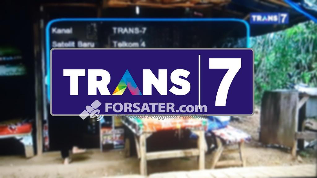 Frekuensi Terbaru Trans7 di Satelit Telkom 4