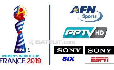 Jadwal Siaran Langsung Piala Dunia Wanita 2019 di Televisi