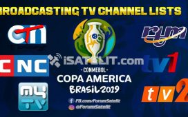 STASIUN televisi pemegang hak siar resmi Copa America 2019. (Dok. FORSATER.com)