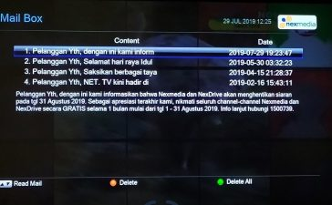 Pay TV Grup SCTV dan Indosiar Ini Tutup 1 September
