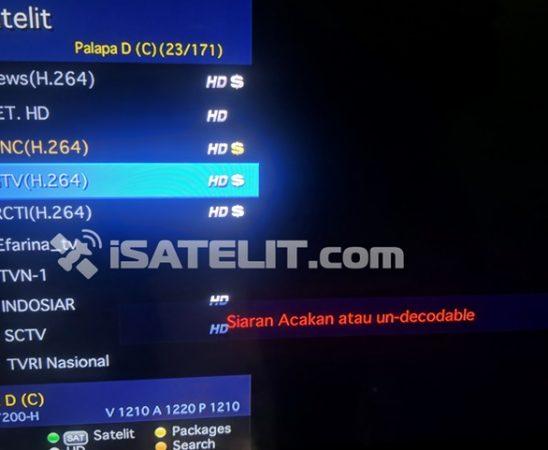 RCTI GTV dan MCTV Diacak 24 Jam di Parabola
