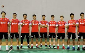 NET. Diacak Badminton Asia Team Championships 2020