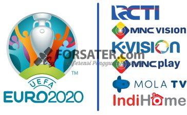 Siaran TV yang Siarkan UEFA EURO 2020 di Indonesia