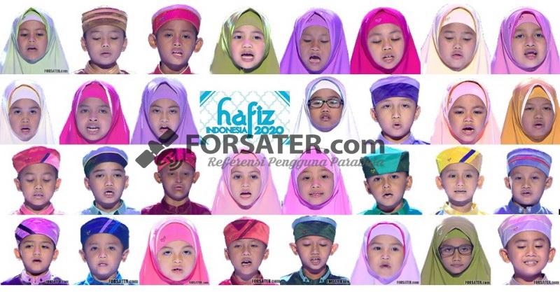 Inilah 31 Anak Peserta Hafiz Indonesia RCTI 2020