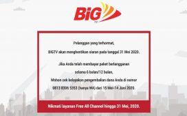 BigTV tutup