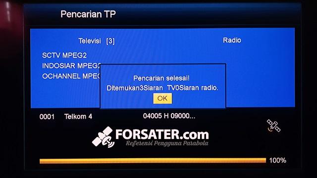 Cara Menambah Siaran TV dan FEED di Parabola bagi Pemula 8