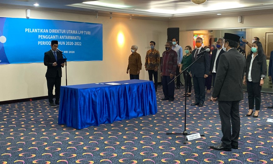 Iman Brotoseno Direktur Utama Baru TVRI Pengganti Helmy Yahya
