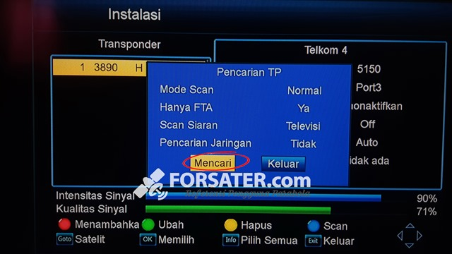 Cara Mudah Mendapatkan Satelit Telkom 4 8