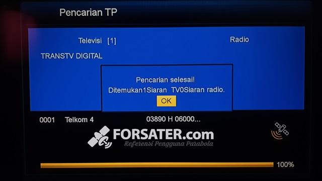 Cara Mudah Mendapatkan Satelit Telkom 4 9