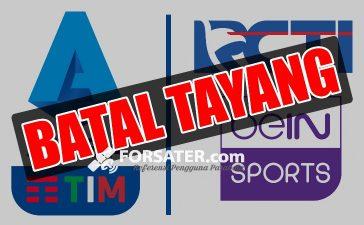 Liga Italia Serie A di RCTI dan beIN SPORTS Batal Tayang