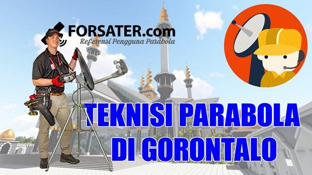 Teknisi Parabola di Gorontalo