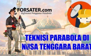 Teknisi Parabola di Nusa Tenggara Barat