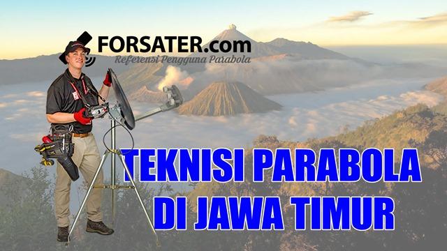 Teknisi Parabola di Provinsi Jawa Timur