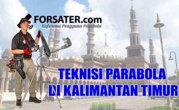 Teknisi Parabola di Provinsi Kalimantan Timur
