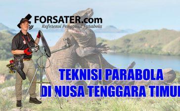 Teknisi Parabola di Provinsi Nusa Tenggara Timur