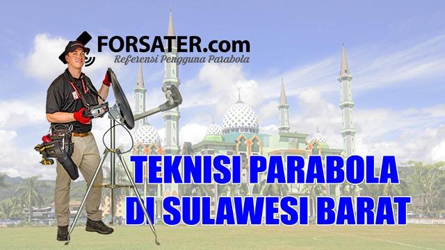 Teknisi Parabola di Provinsi Sulawesi Barat