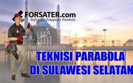 Teknisi Parabola di Provinsi Sulawesi Selatan