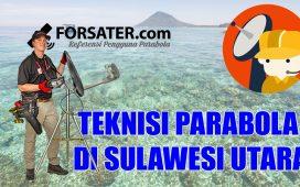 Teknisi Parabola di Sulawesi Utara
