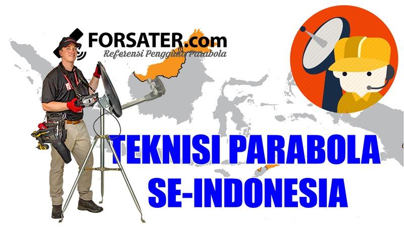 Teknisi Parabola se-Indonesia