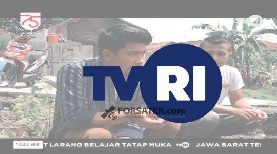 Frekuensi TVRI Nasional, TVRI 3 dan TVRI Sports di Telkom 4