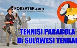 Teknisi Parabola di Sulawesi Tengah