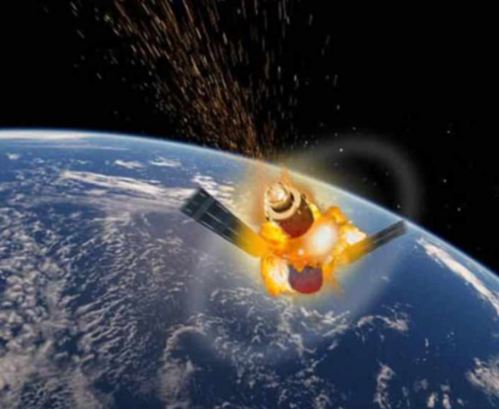 Lokasi Jatuhnya Satelit Telkom 3
