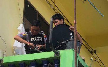 Parabola Dilarang di Myanmar