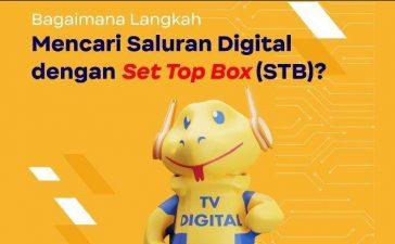 Cara Pakai STB TV Digital