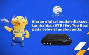 STB Gratis TV Digital Dibagikan Mulai Juli