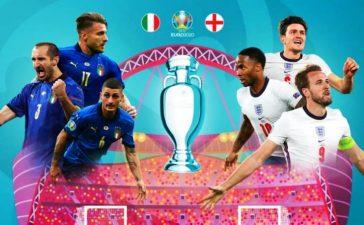 Siaran TV Siarkan Final EURO 2020 Italia vs Inggris di Parabola