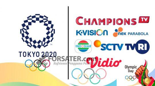 Siaran TV Siarkan Olimpiade 2021 di Indonesia